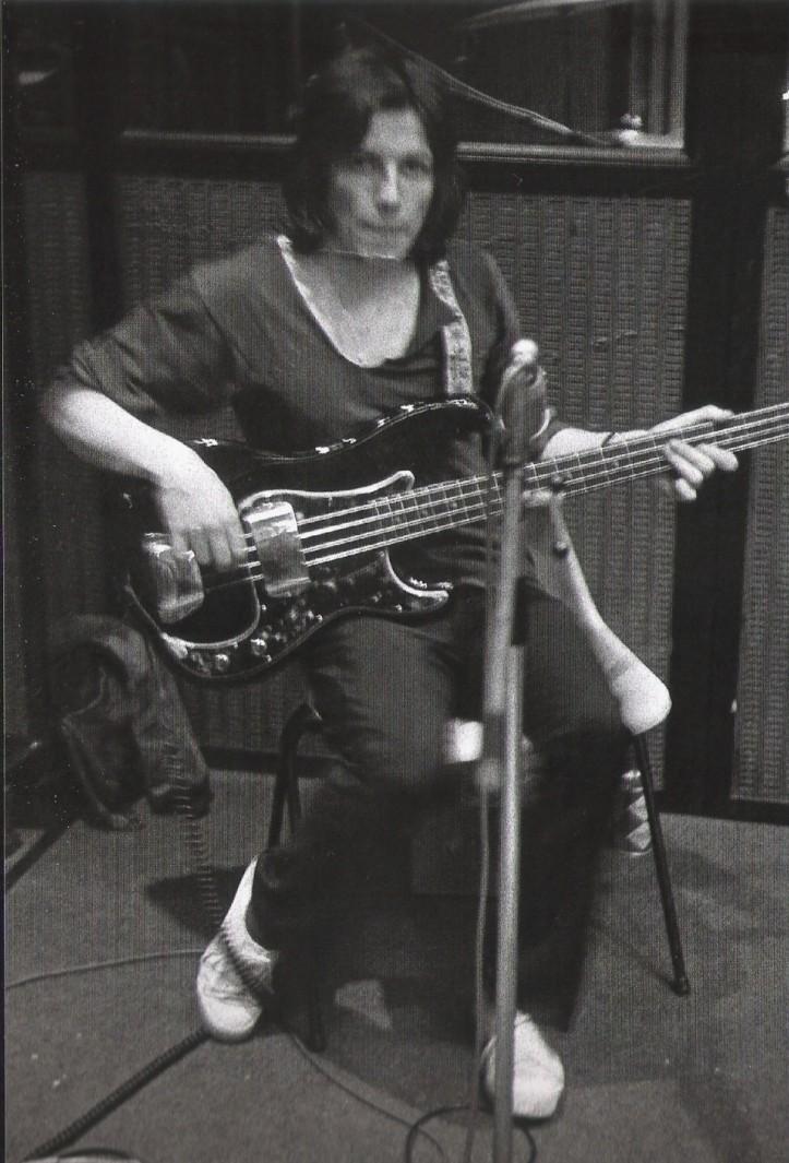 Tim Staffell podczas sesji w Trident Studios, czerwiec 1969 r.; fot.: Paul Humberstone