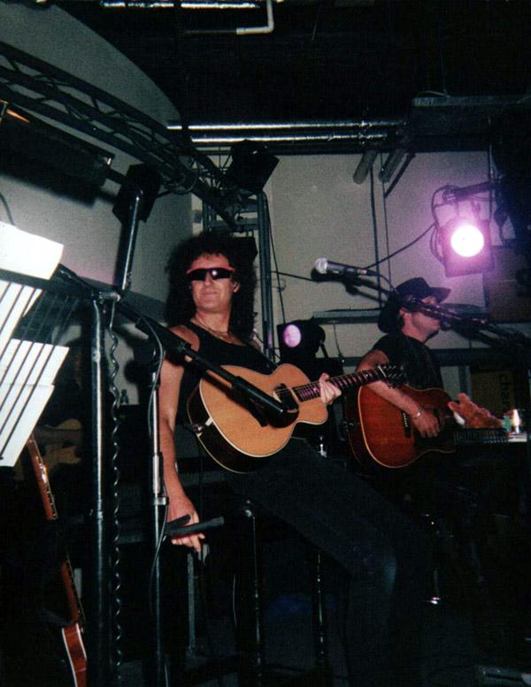 Brian May, Londyn, 11 czerwca 1998 r.; fot.: queenconcerts.com