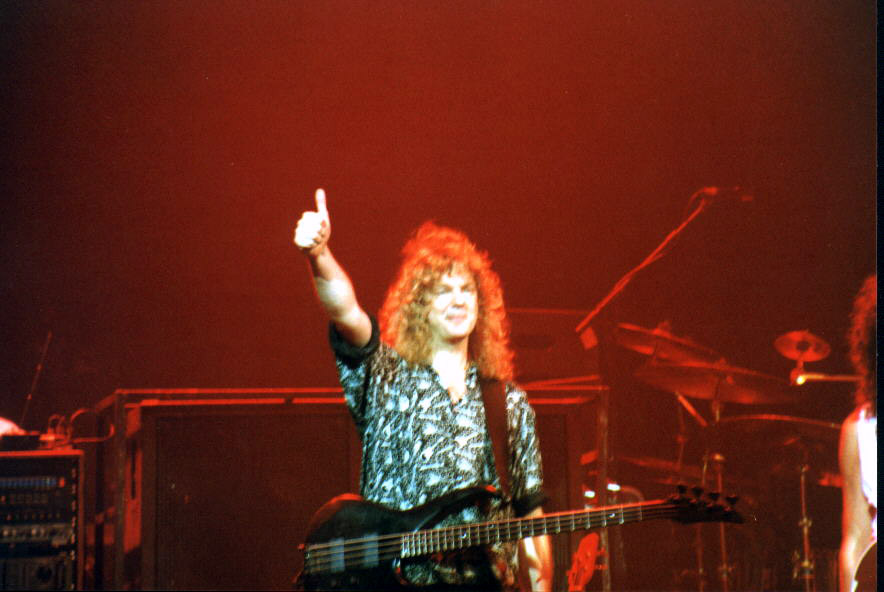 Neil Murray, Sheffield, 9 czerwca 1993 r.; fot.: queenconcerts.com