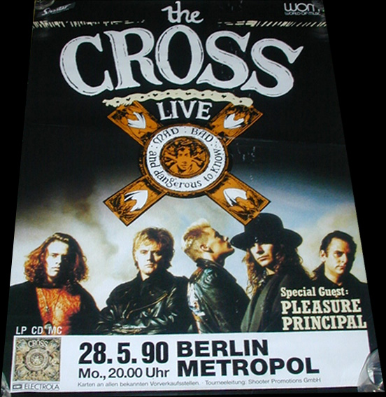 Plakat promujący koncert w Berlinie, 28 maja 1990 r.; fot.: queenconcerts.com