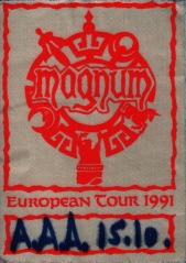 """Przepustka """"all access"""" z koncertu w Monachium, 15 października 1991 r.; fot.: queenconcerts.com"""