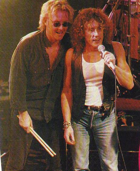 Rogerów dwóch - Taylor i Daltrey, Marquee Club, Londyn, 21 grudnia 1992 r.; fot.: queenconcerts.com