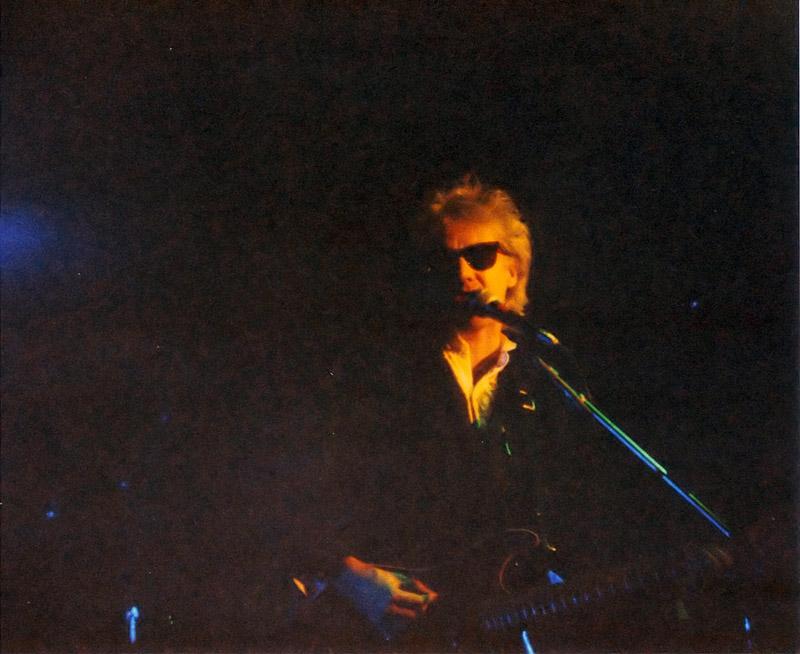 Roger Taylor podczas koncertu w Newcastle, 28 lutego 1988 r.; fot.: Chris Hedley, queenconcerts.com