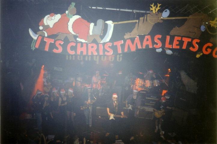Wesołych Świąt! Marquee Club, Londyn, 21 grudnia 1992 r.; fot.: queenconcerts.com