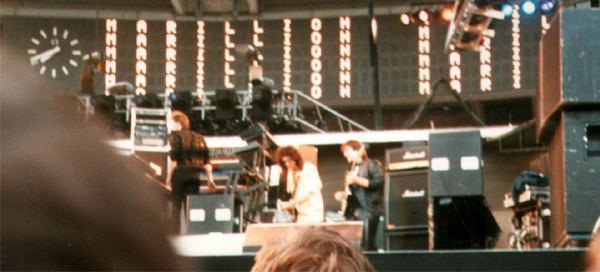 Brian i Marillion w Kolonii, 19 lipca 1986 r.; fot.: queenconcerts.com