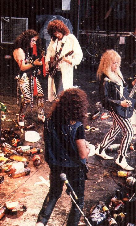 Brian i Bad News, 29 sierpnia 1987 r.; fot: queenconcerts.com