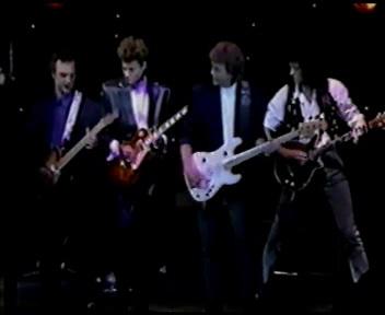 Jerry Lee Lewis & Friends, wśród nich - Brian; fot: queenconcerts.com