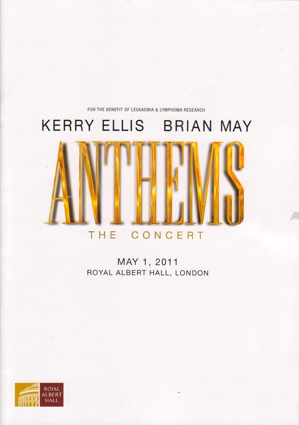 Program występu Anthems: The Concert; fot.: queenconcerts.com