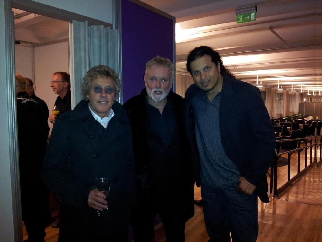 Zlot Nerdów ;) - Roger Daltrey, Roger Taylor, Jeff Scott Soto; IFS World Conference, Szwecja, 15 października 2012 r.; fot.: queenconcerts.com