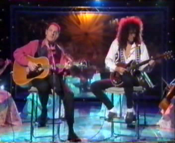 Richard Digance Show, 17 sierpnia 1991 r.; fot.: queenconcerts.com