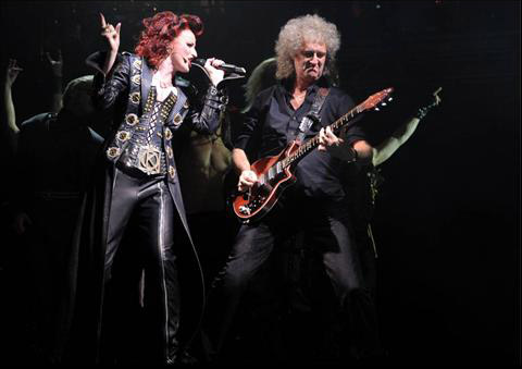 We Will Rock You, Aberdeen, 8 czerwca 2011 r.; fot.: queenconcerts.com