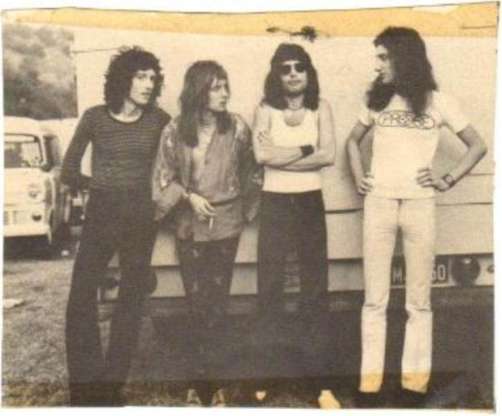 Queen w Australii, 27 stycznia 1974 r.;  fot.: queenlive.ca