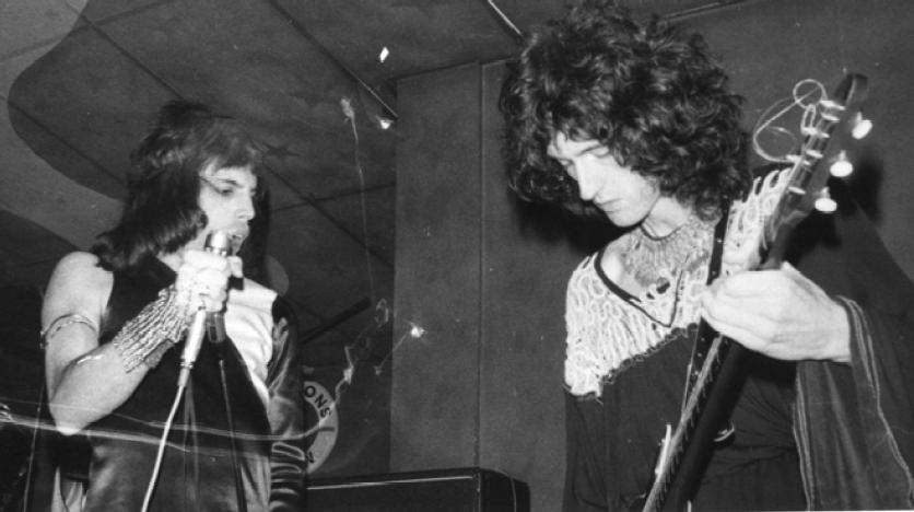 Penzance, chyba ostatni występ w Kornwalii, 29 marca 1974 r.; fot.: Karen Silverlock, źródło: queenlive.ca