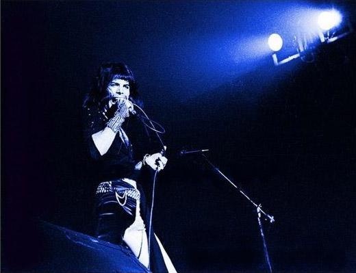"""Pierwsze znane """"amerykańskie"""" zdjęcie członka zespołu Queen,  Oklahoma, 19 kwietnia 1974 r., fot.: queenconcerts.com, przesłał: Alex Fedotov"""