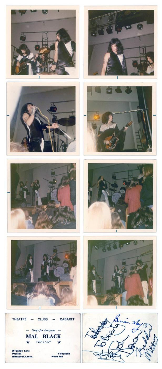 Manchester, 20 marca 1974 r.; korekta zdjęć: Nino Trovato, źródło: queenconcerts.com