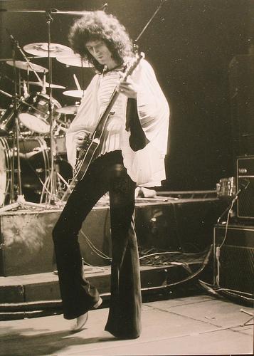 Rainbow Theatre, listopad 1974 r.; fot.: Richard Paul-Jones, źródło: queenlive.ca