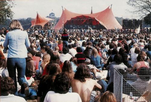 Wierni poddani, Hyde Park, 18 września 1976 r.; fot.: queenlive.ca
