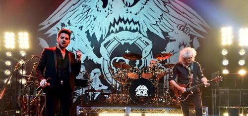 Queen + Adam Lambert w Los Angeles, fot.: Getty Images