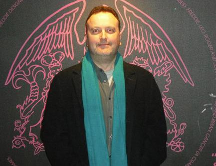 Greg Brooks - archiwista Queen, fot.: fcqueen.cz