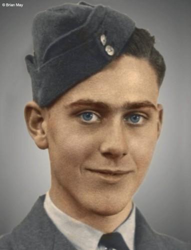 Harold May w 1940 r.; fot.: brianmay.com
