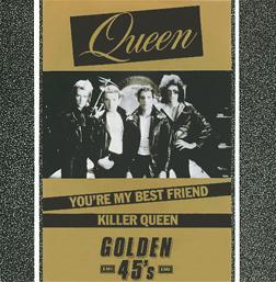 Okładka brytyjskiego singla You're My Best Friend/Killer Queen z 1984 r.; fot.: queenpedia.com