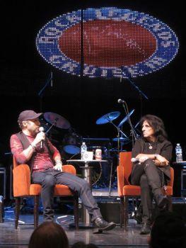Rock Legends Cruise, sesja Q&A z Paulem Rodgersem i Alicem Cooperem; fot.: Paul Rodgers Official