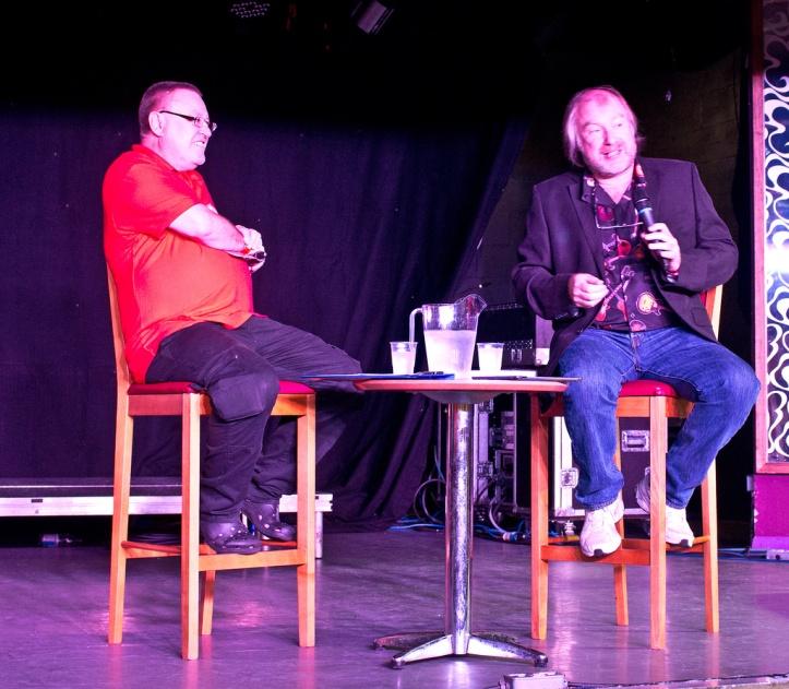 Jim Jenkins i Doug Bogie, Zlot Oficjalnego Fanklubu Queen w 2014 r.; fot.: John Brace