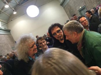 Brian, Tony Iommi i Carl Palmer; fot.: oficjalny FB Tony'ego Iommiego;