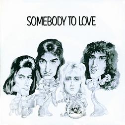 Brytyjska okładka singla Somebody to Love; fot.: queenpedia.com